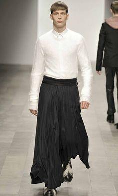 Male Skirt Inspired by Greek Time Era