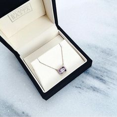 Santa baby, just slip an RB under the tree, for me  we wouldn't mind finding this amethyst and diamond necklace under our tree. Amethyst and Diamond necklace handmade by Ricardo Basta Fine Jewelry