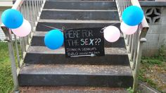 Pink and Blue decor ideas for a gender reveal party Reveal Parties, Gender Reveal, Lincoln, Parenting, Party Ideas, Decor Ideas, Joy, Pink, Blue