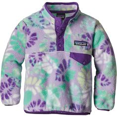 34abf3fd Patagonia Baby Lightweight Synchilla Snap-T Pullover - Moosejaw
