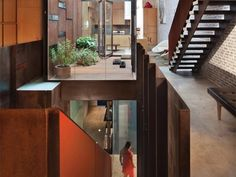 World of Architecture and Design: Inverted Warehouse-Townhouse by Dean-Wolf Architects