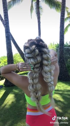 Try one of these crazy-fast (and chic!) hairstyles, and you'll be office-ready in seconds. Chic Hairstyles, Easy Hairstyles For Long Hair, Braids For Long Hair, Summer Braids, Boho Hair Short, Medium Length Hair Braids, Girls Braided Hairstyles, Hairstyles For Teens, Simple Hair Updos