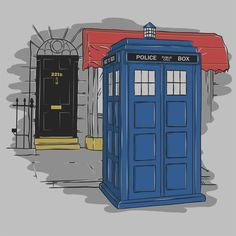 Consulting Timelord T-Shirt $12 Doctor Who tee at Blue Box Tees!