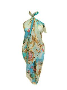 SCARF_TRADINGINC® Rose Jewelry Pareo Scarf Swimsuite Cover-up - http://darrenblogs.com/2016/04/scarf_tradinginc-rose-jewelry-pareo-scarf-swimsuite-cover-up/