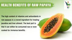 Health benefits of Raw Papaya...