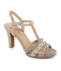 Available at Dillards.com #Dillards Antonio Melani, Grey Shoes, Dress Sandals, Dillards, My Style, Bags, Gray, Dresses, Fashion