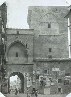 La Valencia desaparecida: Las Torres de Quart sobre 1900. Archivo del C.S.I....