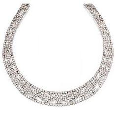 Lot 85 - 18 Karat White Gold and Diamond Necklace, Emis Beros