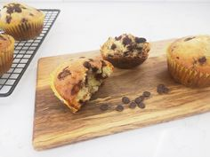 These bakery style chocolate chip muffins will remind you of the giant ones you get at Mugg n Bean. They are soft and fluffy on the inside with the muffin top delivering the crunch. This, by the way, has to be my favourite part of biting into any muffin. Filled with dark chocolate chips you will not be disappointed.