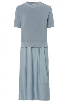 Riani Damen Kleid Hellblau   SAILERstyle Short Sleeve Dresses, Dresses With Sleeves, Blazer, Dresses For Work, Tops, Fashion, Dress Work, Light Blue, Fashion Women