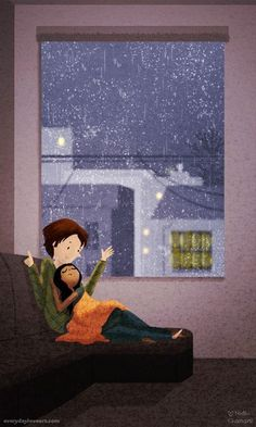 Artist's Illustrations Capture The Simple Beauty Of Everyday Love