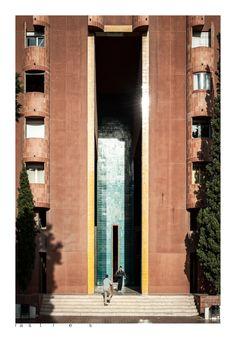 Walden 7 · Ricardo Bofill, Taller de arquitectura, 1972 Sant Just Desvern,