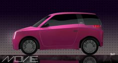 MOVIE Concept car -  compact car for its dynamic range in the city