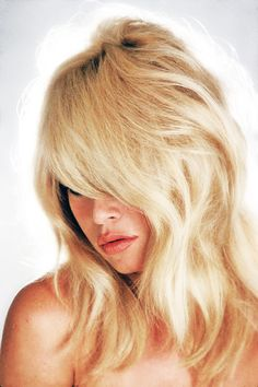 Bardot. Hair. Lips. Nose.