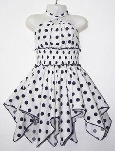 LL182-14-22 Girls 2-8 Cotton Dress