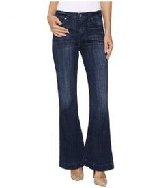 7 For All Mankind Tailorless Ginger in Bordeaux Broken Twill (Bordeaux Broken Twill) Women's Jeans