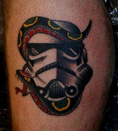 #geekytattoo #geeky #tattoo #geek #starwarstattoo
