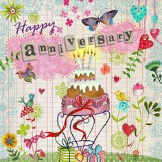 Greeting Cards with Flowers Anniversary Qoutes, Anniversary Wishes For Sister, Anniversary Message, Anniversary Greetings, Wedding Anniversary Cards, Anniversary Congratulations, Happy Birthday Images, Birthday Messages, Birthday Greeting Cards