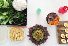 Super Bowl and Lunar New Year party: Seahawks (blue corn tortilla chips and green guacamole) and Broncos (blue corn chips and Doritos) themed. Plus do-it-yourself spring rolls.