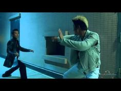 I just love to watch him fight. I can watch him all day!   Donnie Yen...Wu Jing