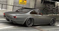 SWEET! Volvo P1800 Concept Car