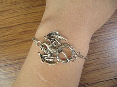 lord of the rings jewelry dragon bracelet Antique personalized jewelry steampunk Unique gift vintage silver on Etsy, $2.00