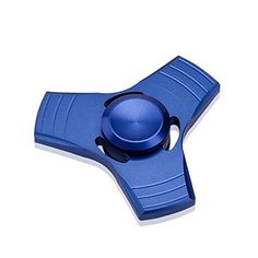 Feibi Aluminum Alloy Fingertip gyro Hand spinner Toy Hand Spinner Finger Spinner Fidget Spinners Gyro EDC Focus Toy Blue ** Be sure to check out this awesome product. Stress Toys, Stress Relief Toys, Spinners Fidget, Hand Fidgets, Desk Toys, Anxiety In Children, Adult Children, Fidget Toys, Adhd