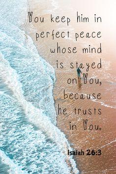 Perfect Peace ...