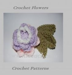 Crochet+Flower+patterns.+(Free+Crochet+Patterns)+These+crochet+flowers+are+so+easy,+and+once+you+make+one,+there+will+be+no+stopping+you.+Learning...