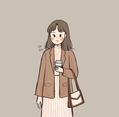 That just fits perfectly Cartoon Art Styles, Cute Art Styles, Aesthetic Drawing, Aesthetic Art, Cute Illustration, Character Illustration, Character Art, Character Design, Dibujos Cute