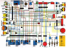 cb650 electrical diagram | 1979 cb650 | pinterest | cb650, honda, Wiring diagram