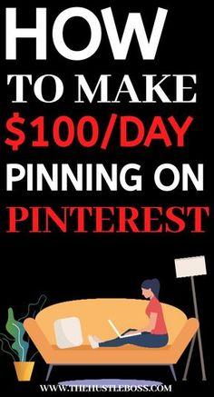 Work From Home Opportunities, Work From Home Jobs, Earn Money From Home, Earn Money Online, Online Income, Money Tips, Money Saving Tips, Make Money From Pinterest, Make Easy Money
