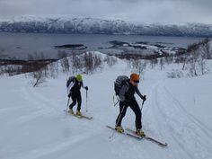 Ski touring in Tromsø, Norway