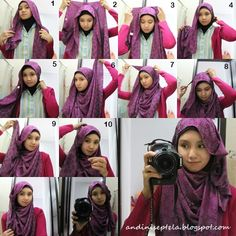 Hijab tutorial exlusif
