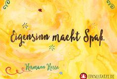 FROSCHTATZE Postkarte| Eigensinn macht Spaß.  ----------------------------------------------- Kleines Extra: der 5 € Gutscheincode HEYS9PF für Hörgeschichten und Sprachlern-CDs!