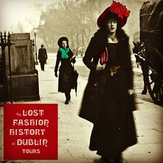 Amazing Street Style captured in Joyce's Dublin 1904 Ireland Pictures, Images Of Ireland, Old Pictures, Old Photos, Vintage Pictures, 1900s Fashion, Edwardian Fashion, Candid Photography, Street Photography