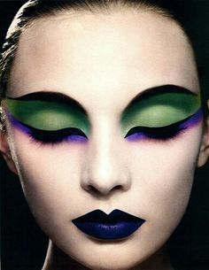 Black swan make up; #beauty #art