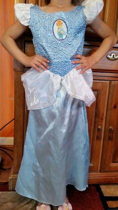 Cinderella Authentic Disney Classics Halloween Costume Wand Tiara Girls S 4 6 #Disney #CompleteOutfit