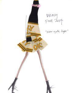 "Designer Inspirations for Fall 2014: DKNY ""New York Type"""
