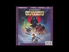 Star Wars - Imperiumin vastaisku -musiikkisatu - YouTube Tähtien Sota, Star Wars, Comic Books, Stars, Comics, Youtube, Sterne, Starwars, Comic Book