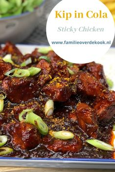 Kip in Cola ofwel Sticky Chicken - Trend Butternusskürbis 2019 Healthy Slow Cooker, Healthy Meals For Two, Super Healthy Recipes, Healthy Crockpot Recipes, Slow Cooker Recipes, Easy Meals, Cola Chicken, Sticky Chicken, Recipe Chicken