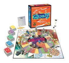 Quelf Premier Edition Board Game - Insanity in a box. Use your creativity, wit and sense of humor. A family game.