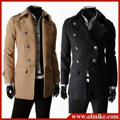 Aliexpress.com : Buy Free shipping Double Breasted Jackets Men Long Coat Mens Winter Coat Trench Coat for Men C023 from Reliable Winter Coat suppliers on Sophia apparel (China) Co., Ltd. More quantity more discount!