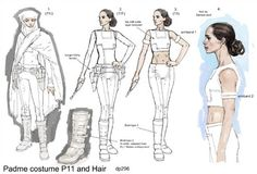 The Padawan's Guide Padme's White Geonosis Outfit