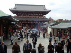 Tokio, Asakusa- buddyjska świątynia Sensowi