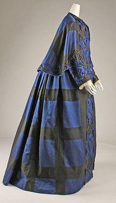 Dress (image 2) | American | 1860s | silk | Metropolitan Museum of Art | Accession Number: 1979.346.97a–c
