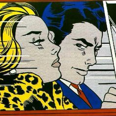 Roy Lichtenstein--saw this exhibit, forgot where. Fun!
