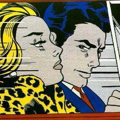 Roy Lichtenstein {Imagen ideal para inspirarse en una historia}