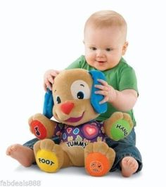 Fisher-Price Learn Puppy Kids Children Toy Toddler Gift Play Education Baby Fun