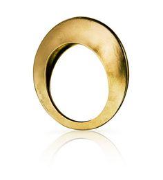 saucer brass ring